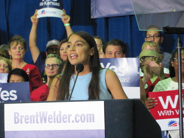 Alexandria Ocasio-Cortez and other women newly elected to Congress are a big reason for excitement leading into 2019 despite disappointments in 2018. (Photo Credit: Mark Dillman/Twitter)