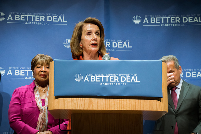 When Nancy Pelosi and Alexandria Ocasio-Cortez are agreeing on matters of procedural voting, you get the idea it's significant. (Photo Credit: Julio Obscura/Flickr/CC BY 2.0)