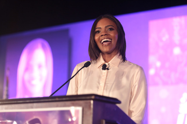 In defending nationalism, Candace Owens cited Adolf Hitler's globalist intentions as his major flaw. In doing so, she casually forgot to mention, you know, that whole attempted genocide of the Jewish people thing. (Photo Credit: Gage Skidmore/Flickr/CC BY-SA 2.0)